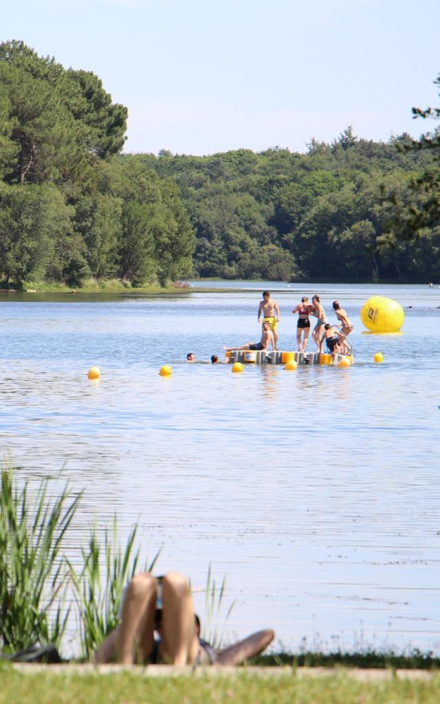 Baignade et loisirs Lac De Trémelin Brocéliande Bretagne