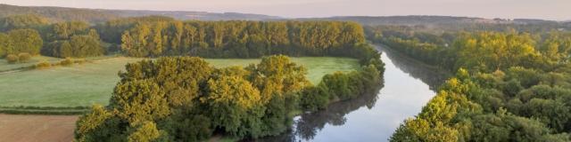 Le Canal de Nantes à Brest vue en drone