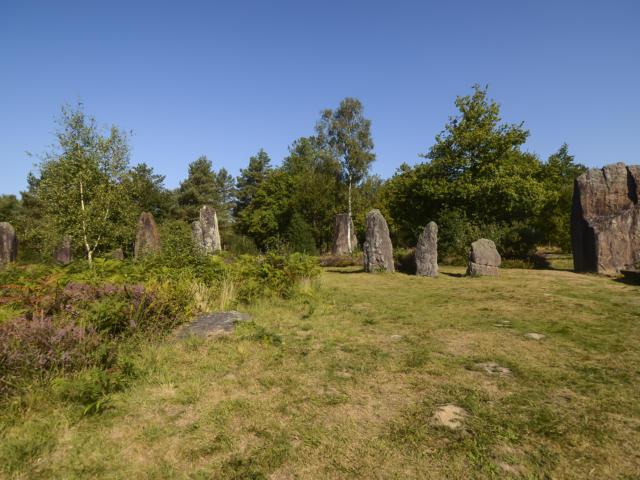 Les megalithes de Montheneuf