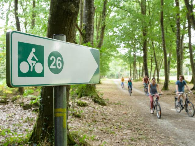 Randonnée à vélo à Mohon