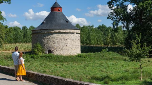 Pigeonnier château de Trécesson Campénéac