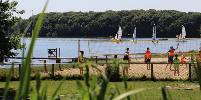 Beach Volley Trémelin - Brocéliande - Bretagne