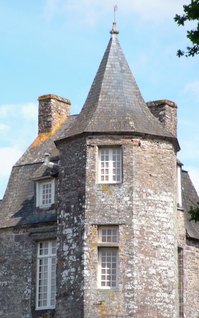 Tourelle château de Trécesson