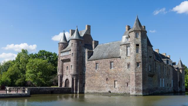 château de Trécesson Campénéac Brocéliande