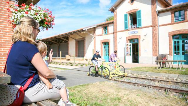 Gare Velorail Medreac