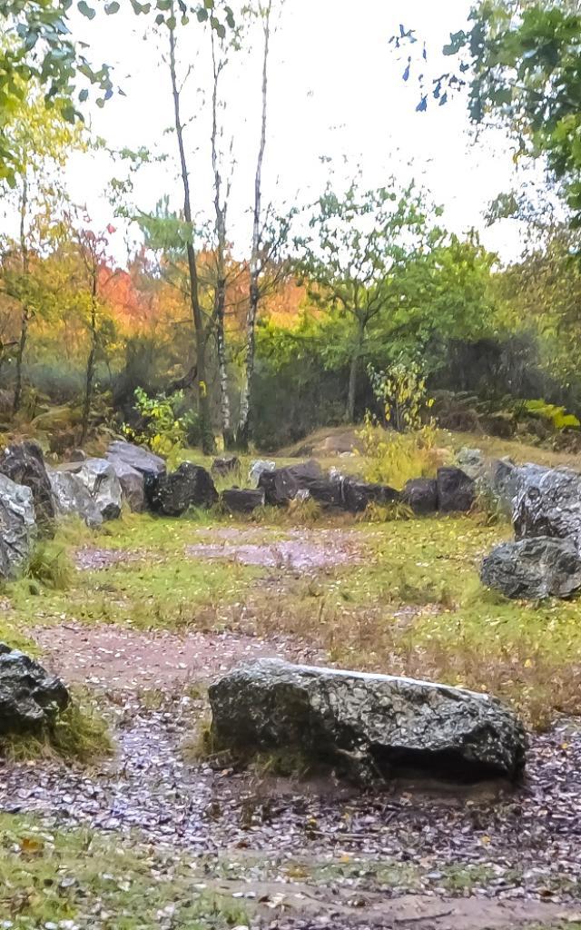 Le jardin aux moines a Neant-sur-Yvel