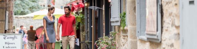 Balade dans les rues de Josselin