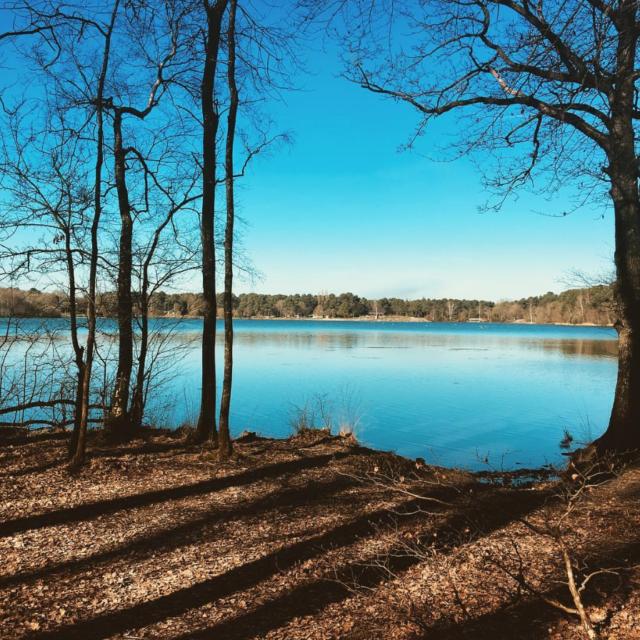 Lac De Trémelin - tour du lac