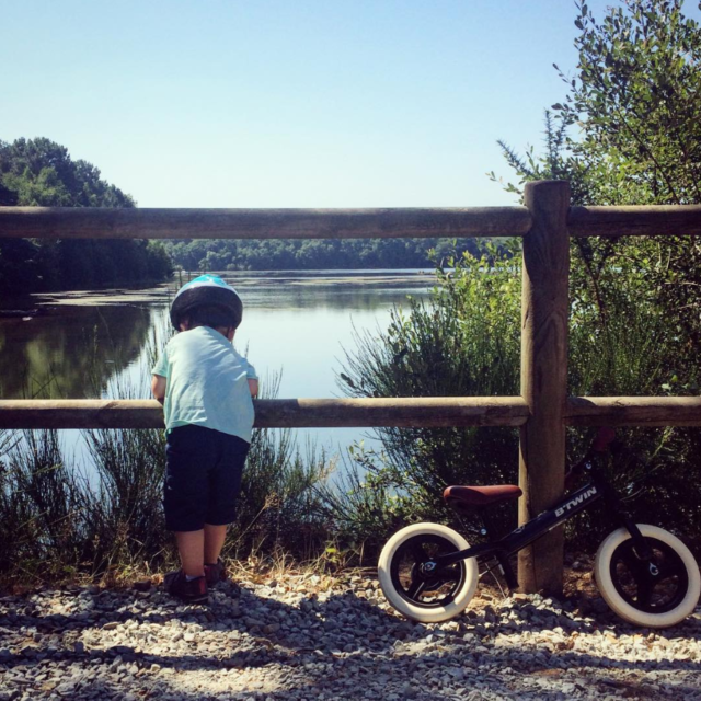 Lac De Trémelin - vélo