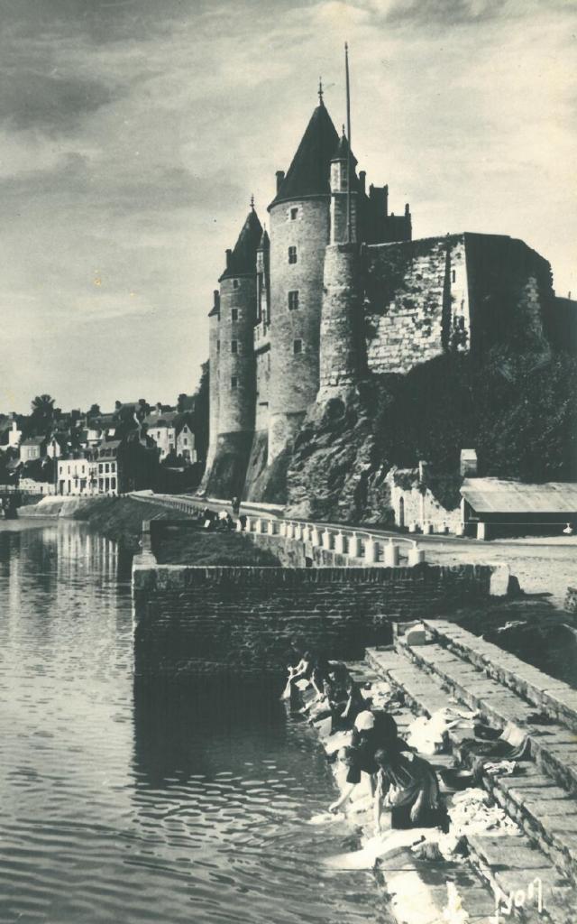 Les Lavandières au canal