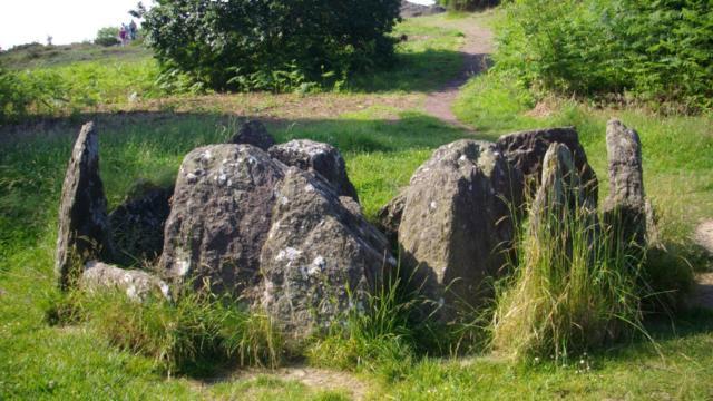 Hôtié de Viviane, site légendaire Brocéliande. Bretagne