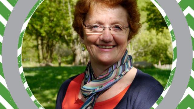 Greeter Martine de La Gacilly