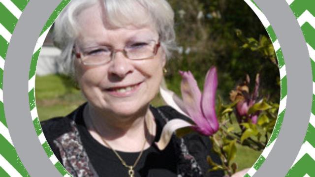 Greeter Sylvie de La Gacilly