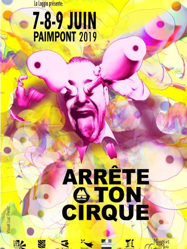 Affiche arrête ton cirque 2019