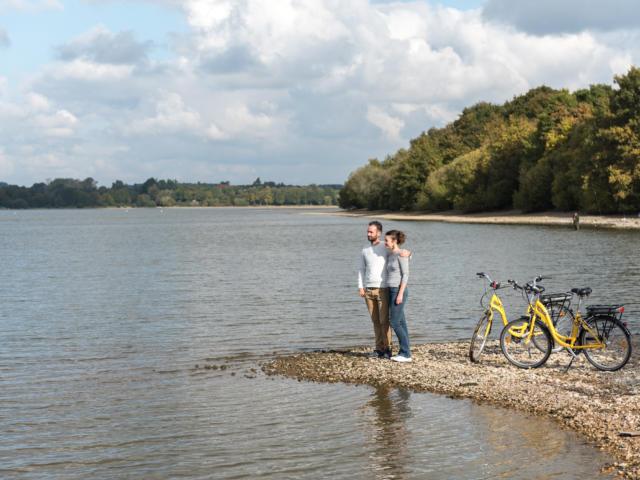Voie verte autour du lac brocéliande bike tour