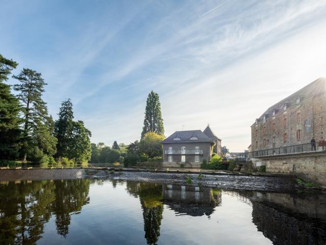 Malestroit Canal de Nantes à Brest