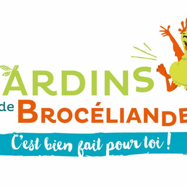logo les Jardins de Brocéliande