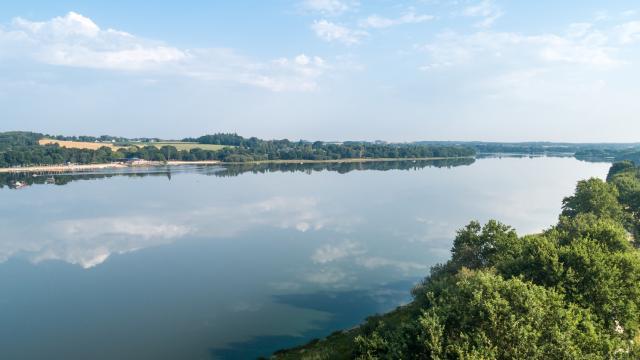 lac au duc vue aérienne