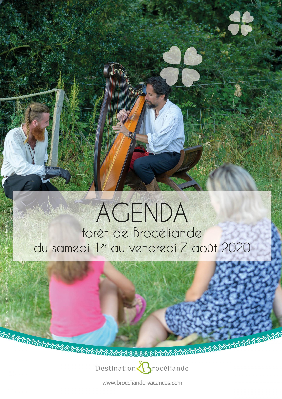 agenda évènements forêt de Brocéliande