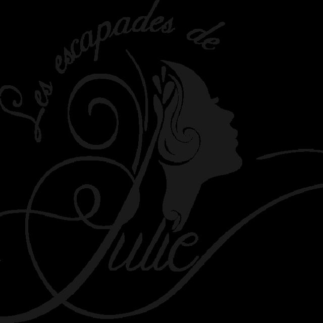 Les Escapades De Julie Logo Noir