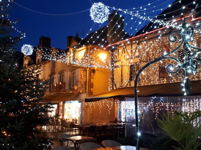 Malestroit illuminations Noël