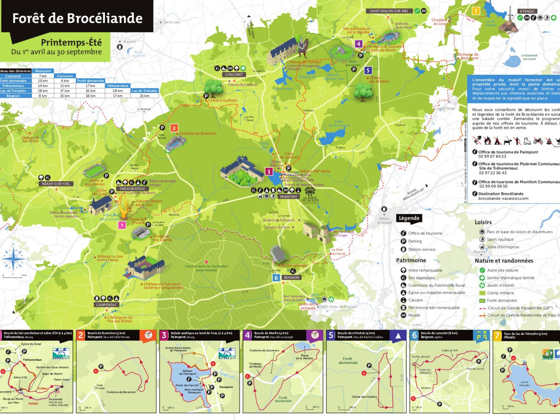 Carte Forêt 2021