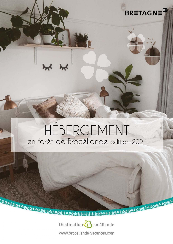 Couv Hebergements Broceliande 2021