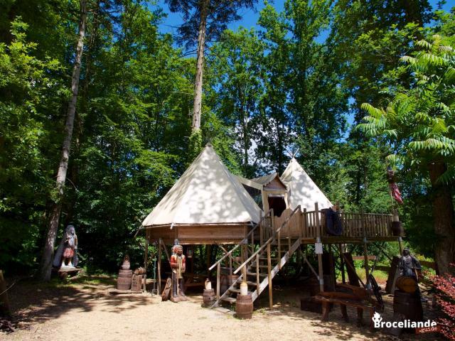 Camping d'Aleth à St Malo de Beignon