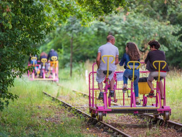 Gare vélo-rail de Médréac - Activité vélo-rail
