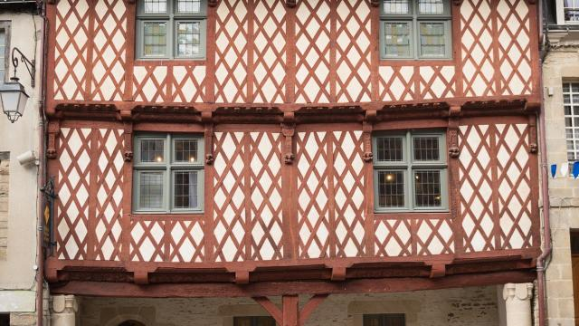 maison des porches - Josselin - monument historique