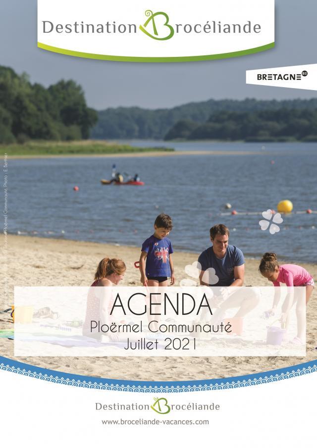 agenda juillet 2021 Ploermel communauté