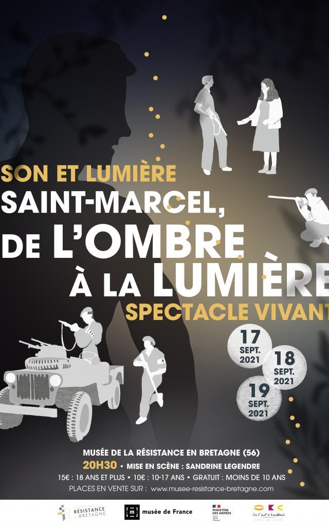 Affiche Son Et Lumiere St Marcel De L'ombre Ó La LumiÞre